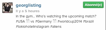 [Instagram Officiel] Instagram  Bill,Tom,Gus,Georg et TH - Page 3 Sans_170