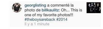 [Instagram Officiel] Instagram  Bill,Tom,Gus,Georg et TH - Page 6 Sans_369