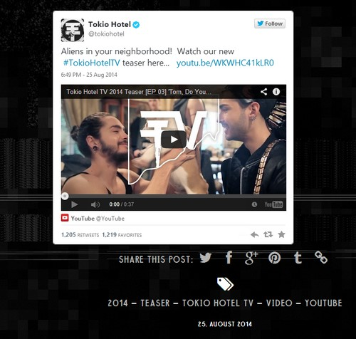 [Blog Officiel ] Tokio Hotel Blog 2014 - 2016 - Page 3 Sans_384