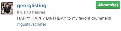 [Instagram Officiel] Instagram  Bill,Tom,Gus,Georg et TH - Page 6 Sans_472