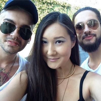 Bill et Tom avec une fan à Los Angeles,USA 13.09.2014 Sans_548