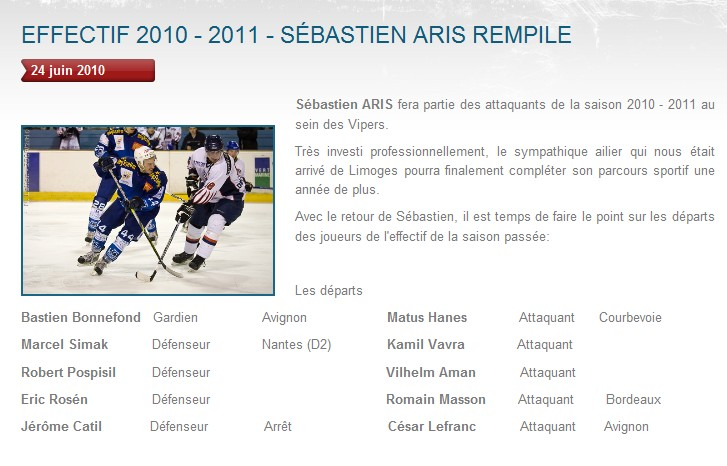 Transferts officiels des Vipers 2010-2011 Aris10
