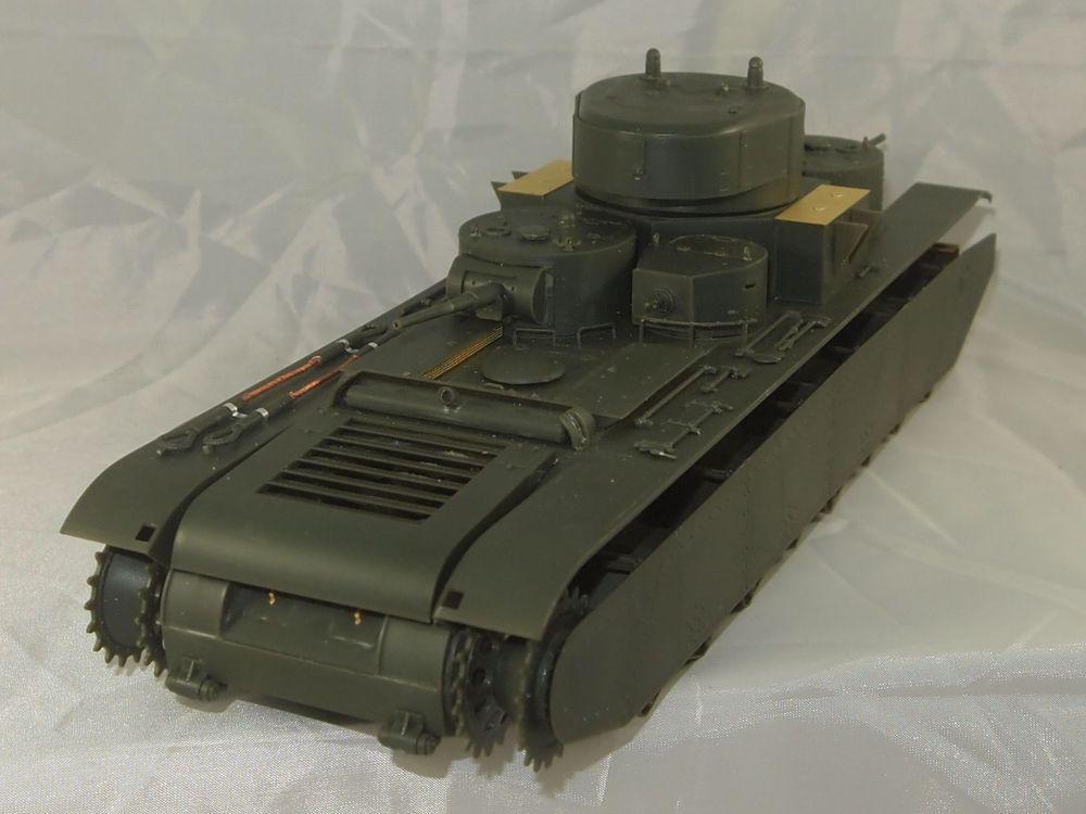 T-35 début de production [Hobby Boss ref 83841 echelle 1/35): la peinture Mon0511