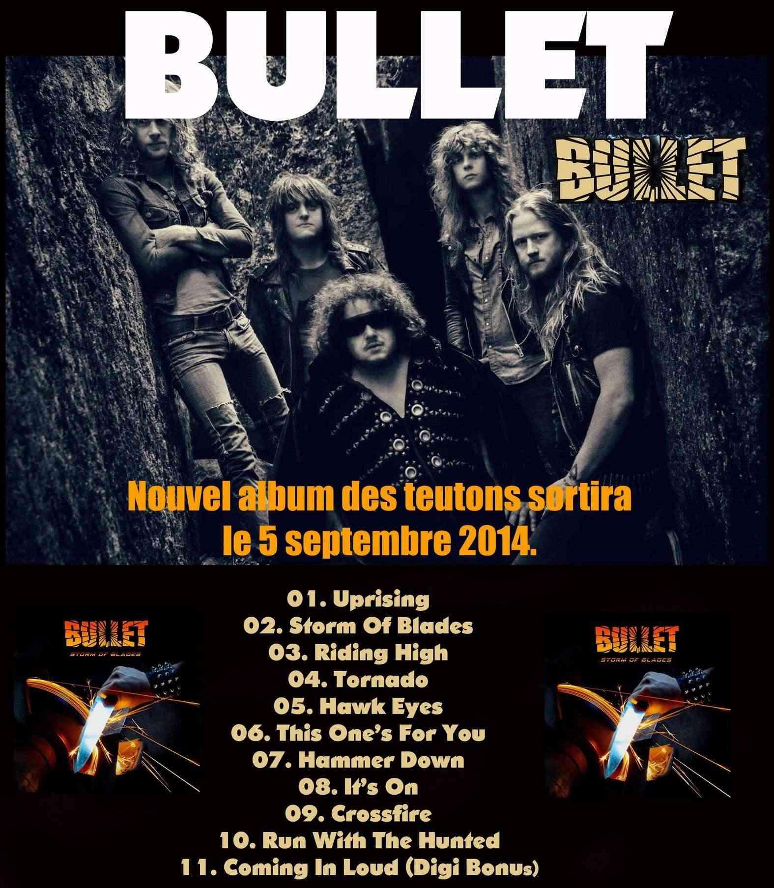 "BULLET   ""Storm Of Blades""  (Hard/Heavy - SEPT 2014) 020"