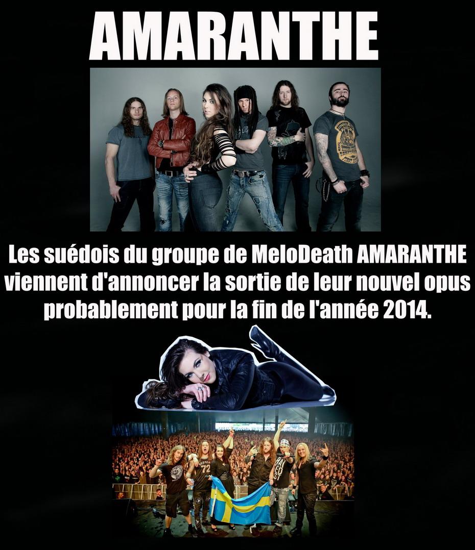 Les NEWS du METAL en VRAC ... - Page 6 Amaran10