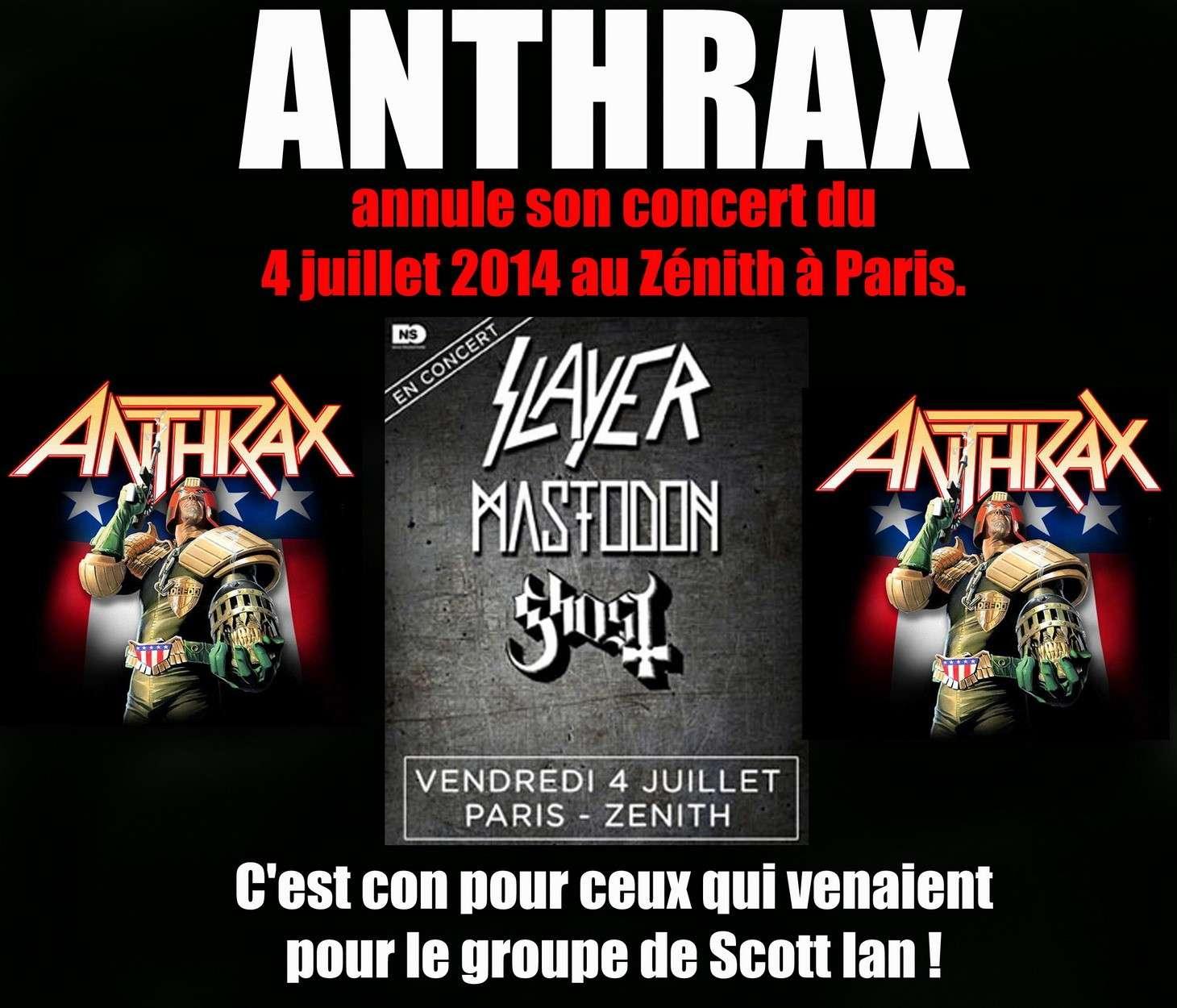 Les NEWS du METAL en VRAC ... - Page 5 Anthra12