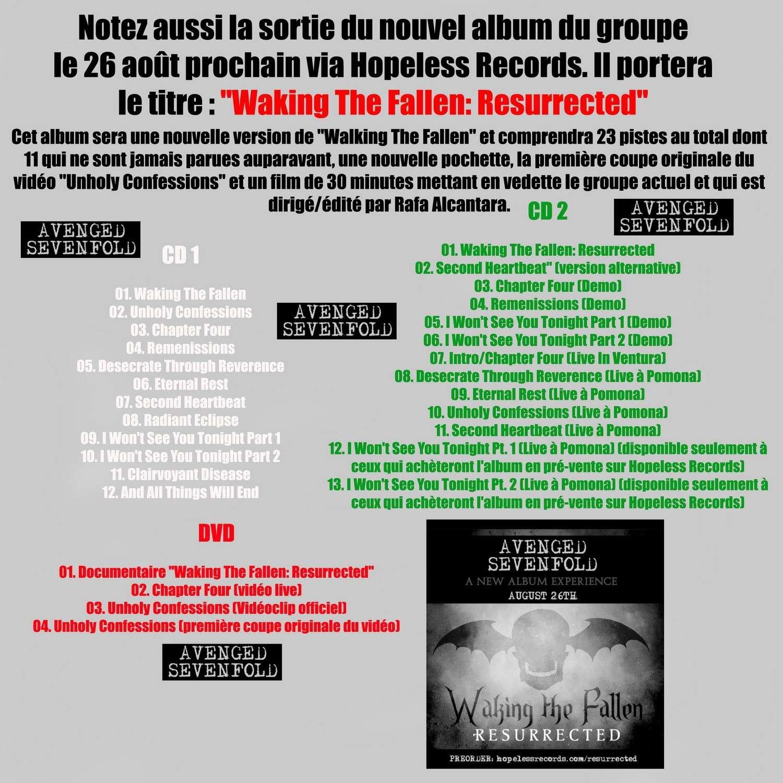 Les NEWS du METAL en VRAC ... - Page 5 Avenge12