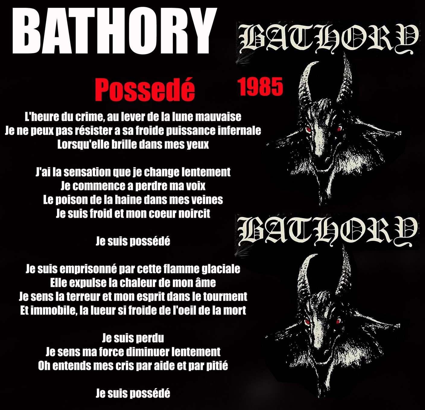 BATHORY Possédé (1985) Bathor10
