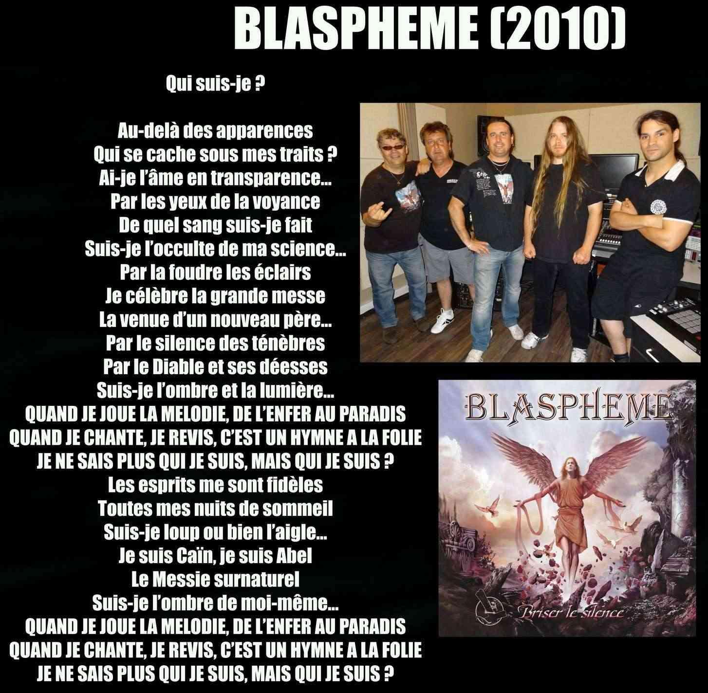 BLASPHEME Qui suis je (2010) Blasph16