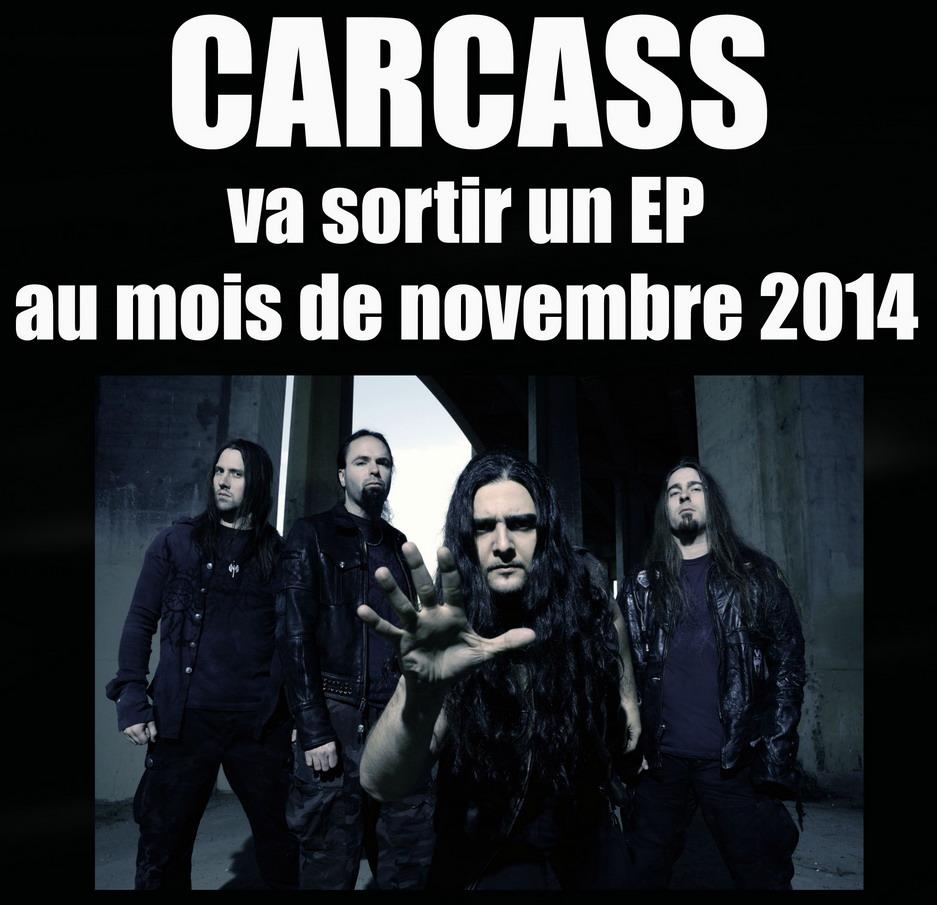 Les NEWS du METAL en VRAC ... - Page 7 Carcas10