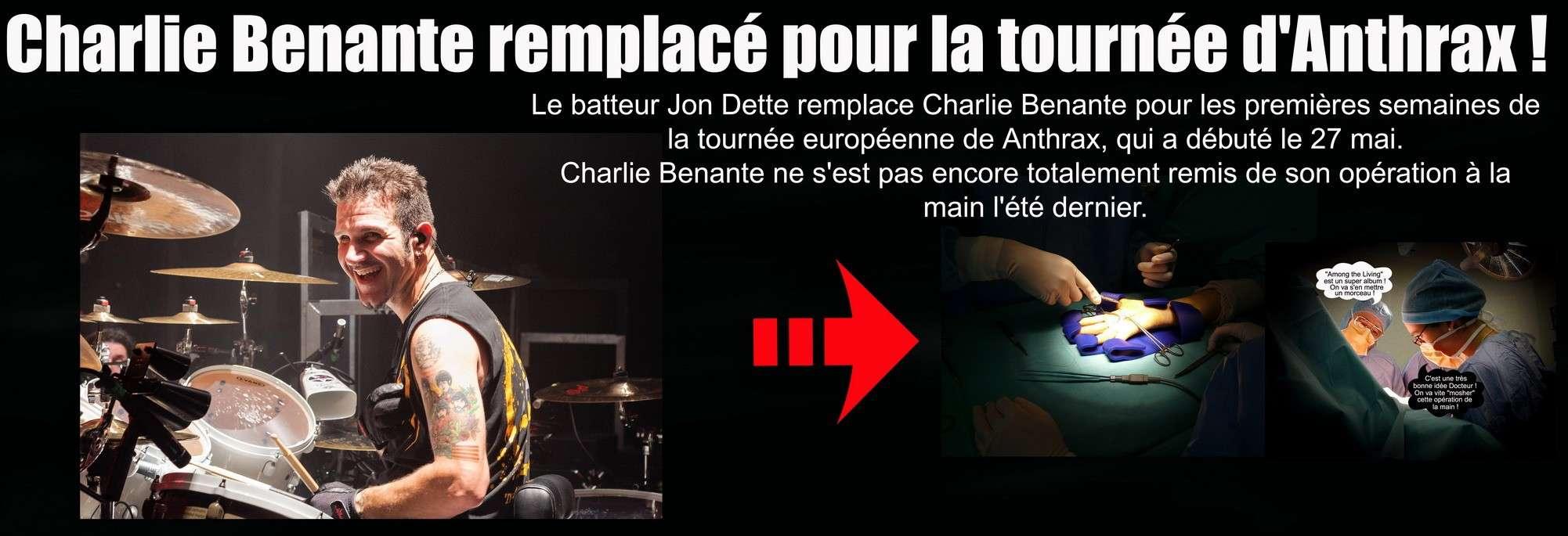 Les NEWS du METAL en VRAC ... - Page 3 Charli11