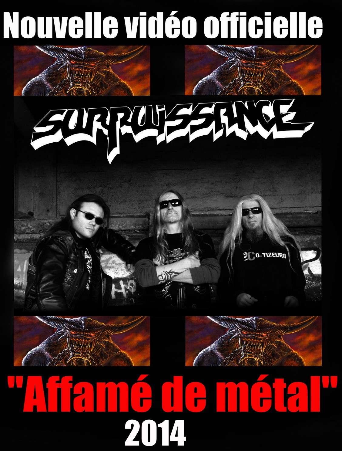 SURPUISSANCE Affame De Metal (2013) (Heavy/Thrash) Durpui10