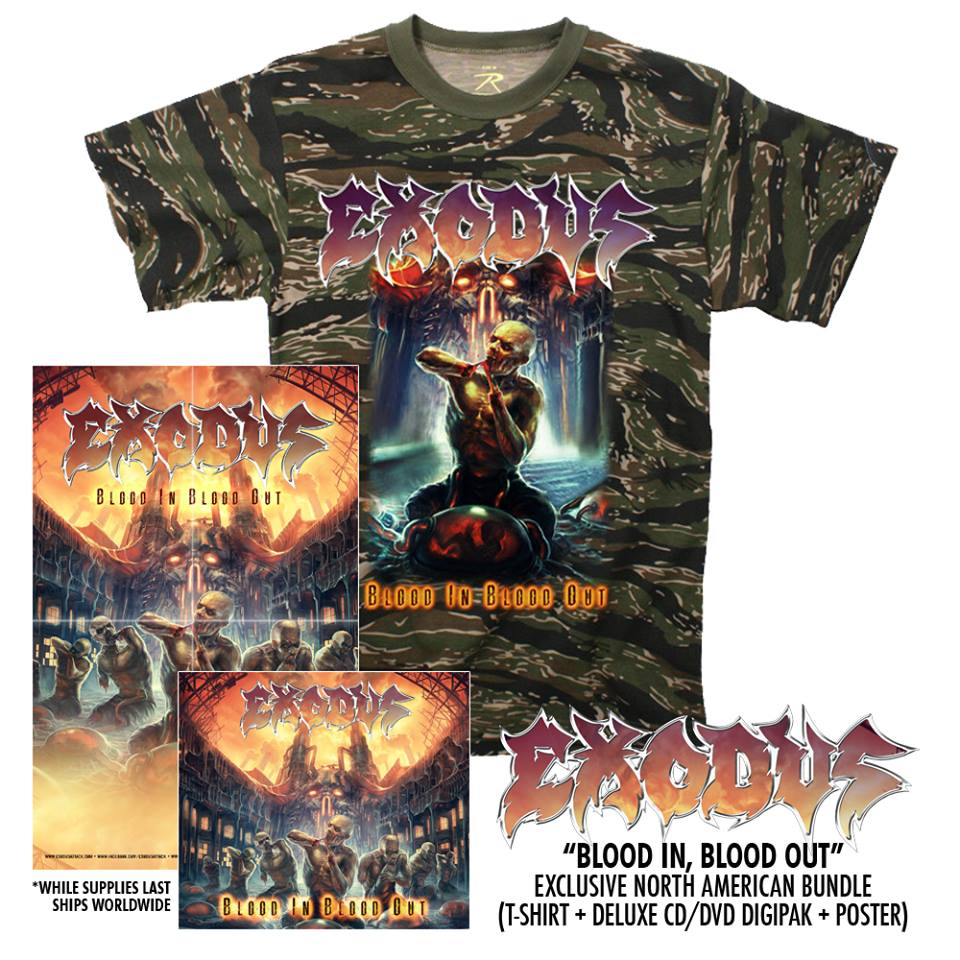 "EXODUS  ""Blood In, Blood Out""  (OCT  2014)  Exodus13"