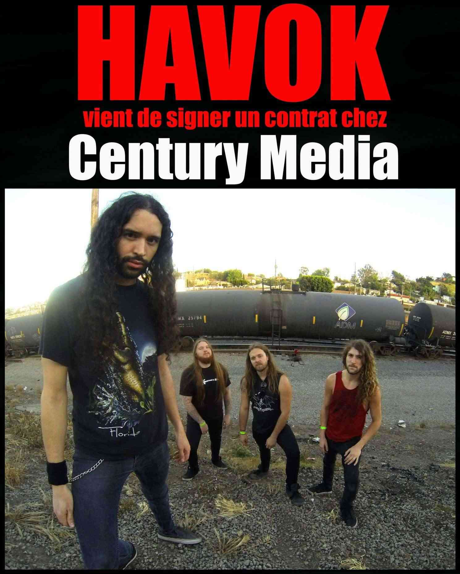 Les NEWS du METAL en VRAC ... - Page 6 Havok10