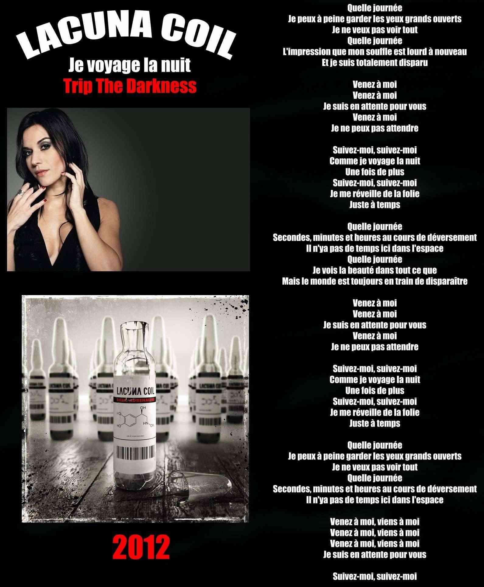 LACUNA COIL Je voyage la nuit (2012) Lacuna10