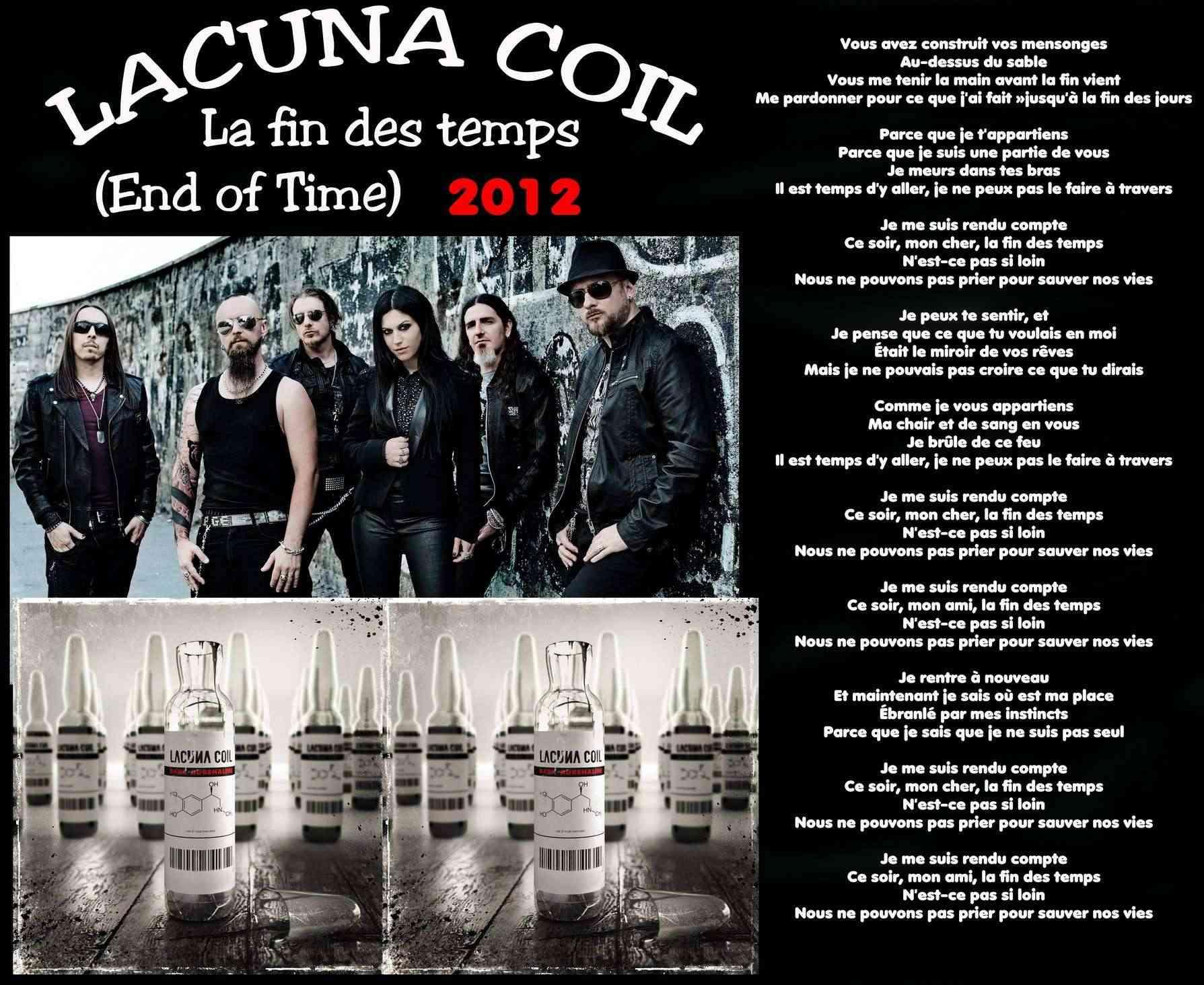 LACUNA COIL La fin des temps (2012) Lacuna11