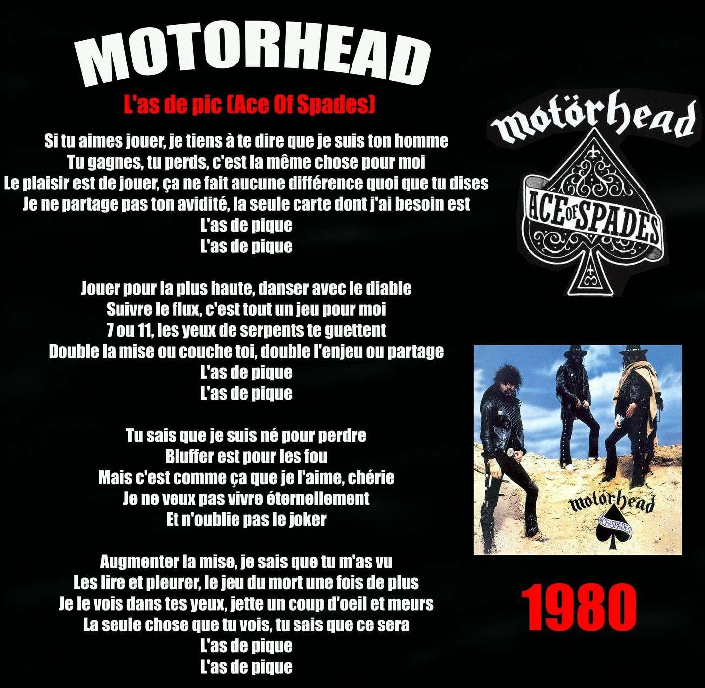 MOTORHEAD Ace Of Spades (1980) Motorh11