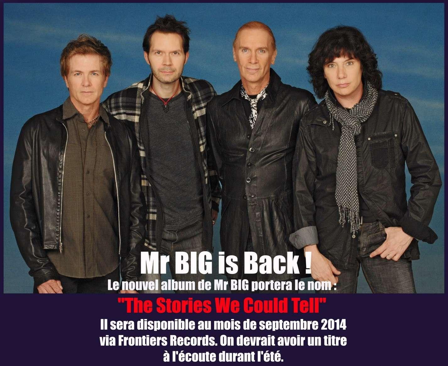 Les NEWS du METAL en VRAC ... - Page 5 Mr_big11