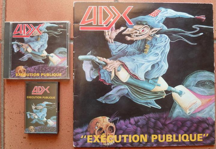 """ADX   """"Exécution Publique""""  (1988) P1150110"""