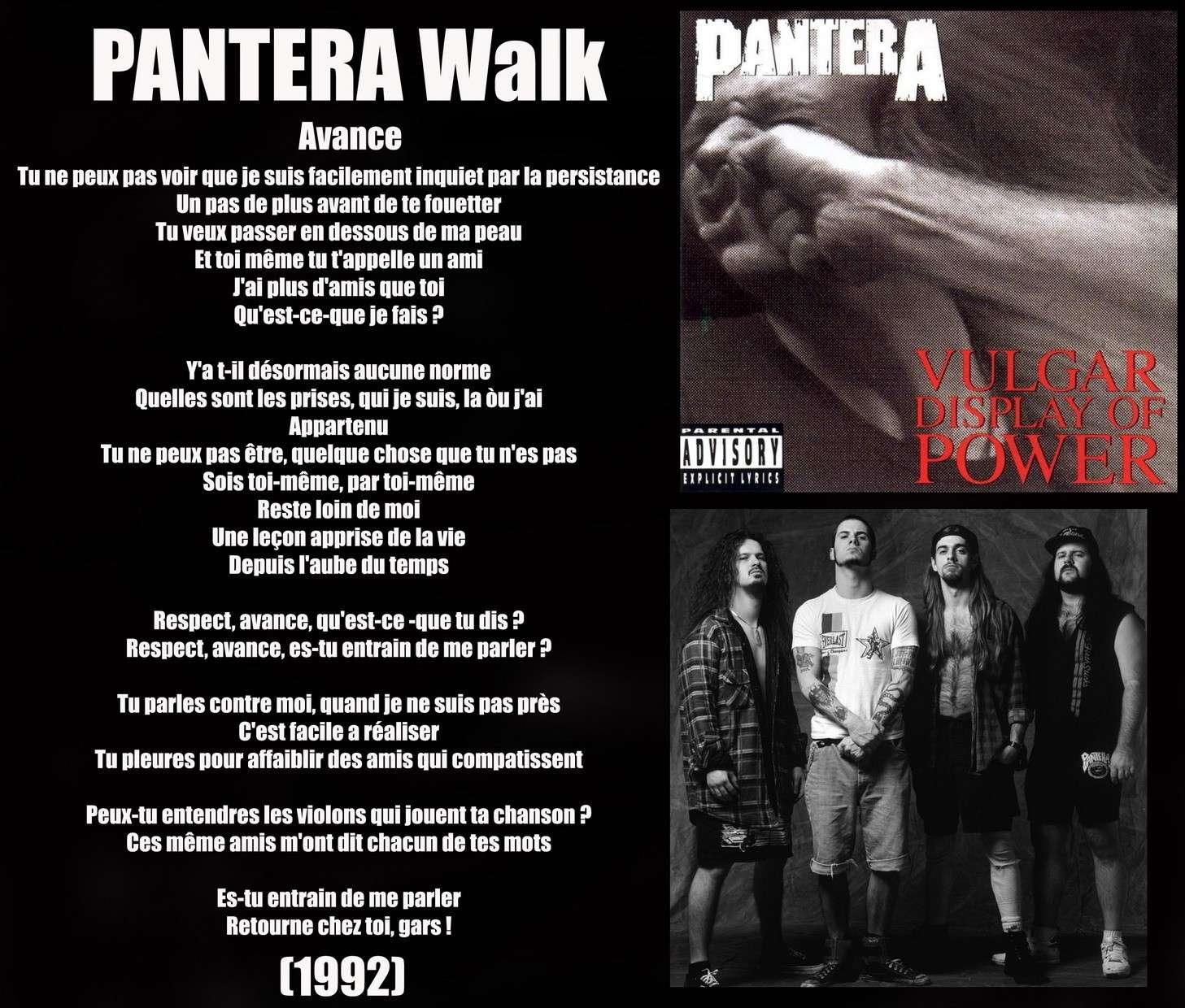 PANTERA Walk (1992) Panter10
