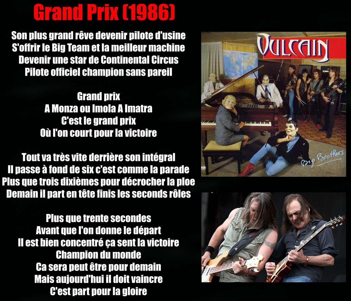 VULCAIN Grand Prix (1986) Vulcai25