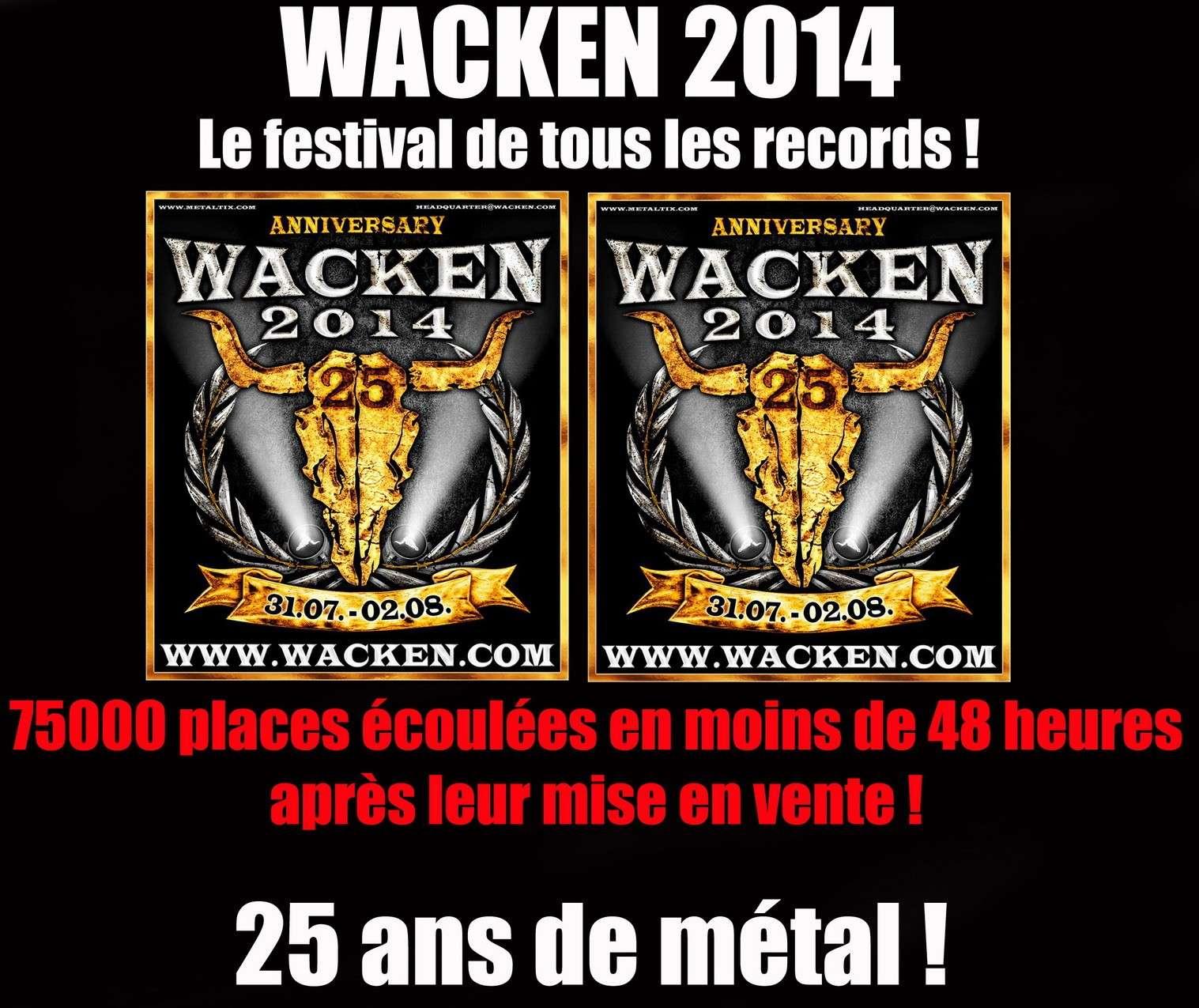 Les NEWS du METAL en VRAC ... - Page 5 Wacken11