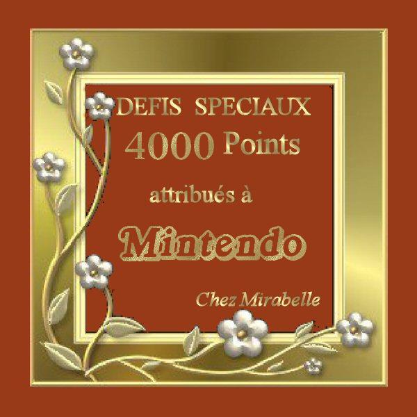 """Récompense : Mintendo- 4000 pts """"Défis Spéciaux"""" 4000_s11"""