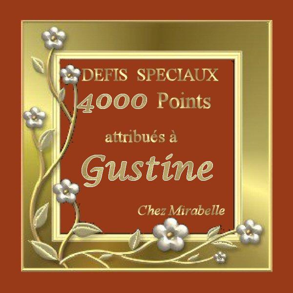 """Récompense pour Gustine  : 4000 points """"Défis Spéciaux""""  Spzoci11"""