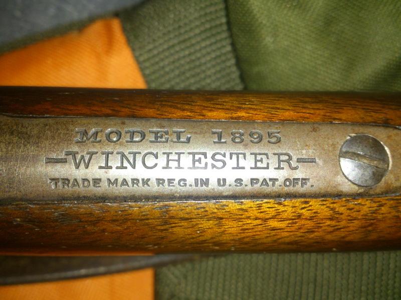 Winchester 1895 405 WCF take down Winch112