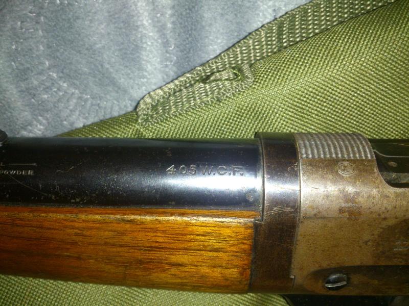 Winchester 1895 405 WCF take down Winch12