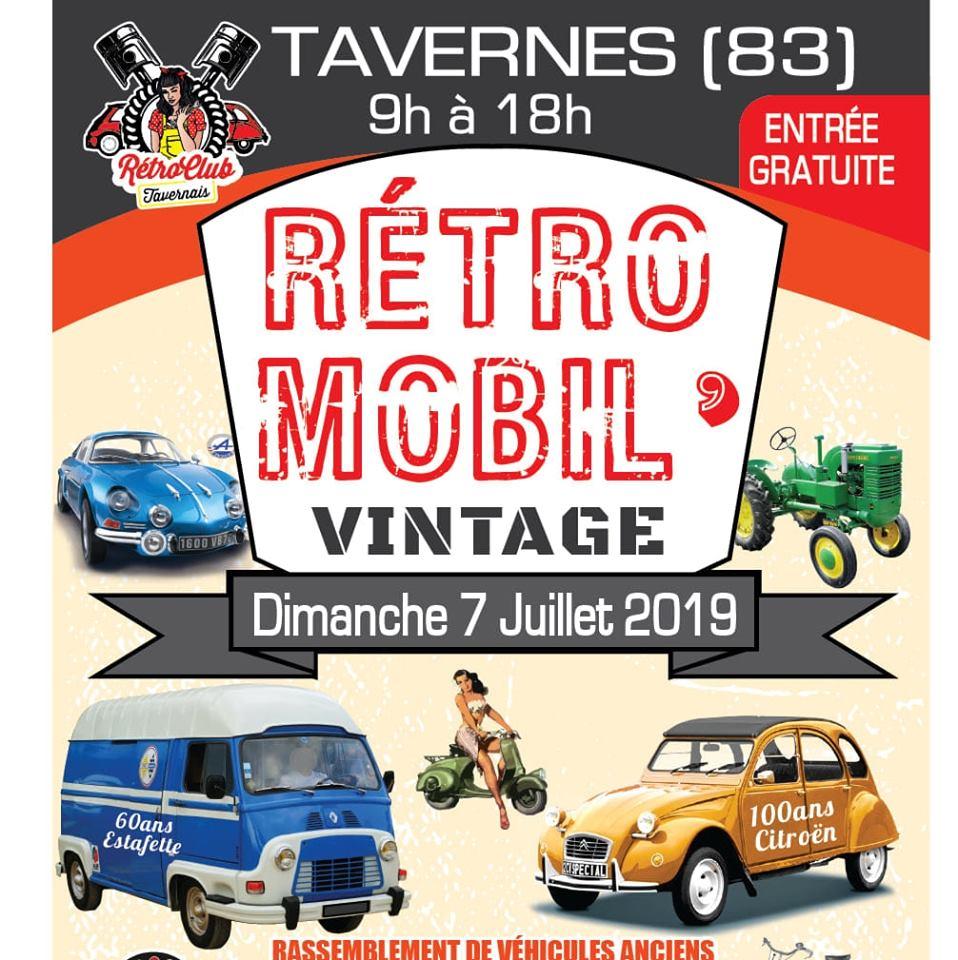 1 r retro mobile vintage a Tavernes (83) Tave2010
