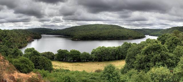 Lac de Guerledan 27 et 28 septembre Guerle12