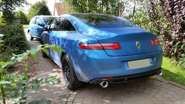 [Momofisher] Laguna III coupé GT 2.0 dCi 180 Bleu mat 20140817