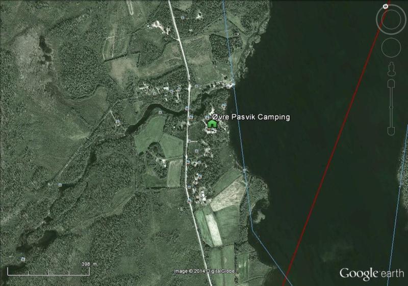 Diagonale européenne de Grense Jakobselv (NORVEGE) au Cap de Gate (ESPAGNE) Campin10