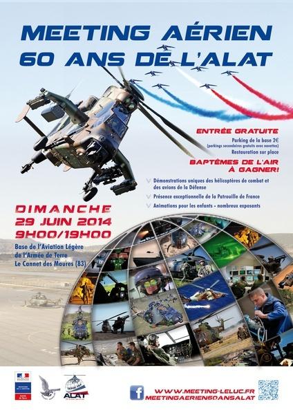 60 ans de l'ALAT2014 base du Luc LFMC Affich10