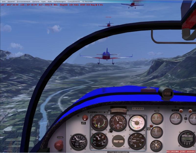 VOL FORMATION CAP10  vol en formation dans les Alpes Cap10_13