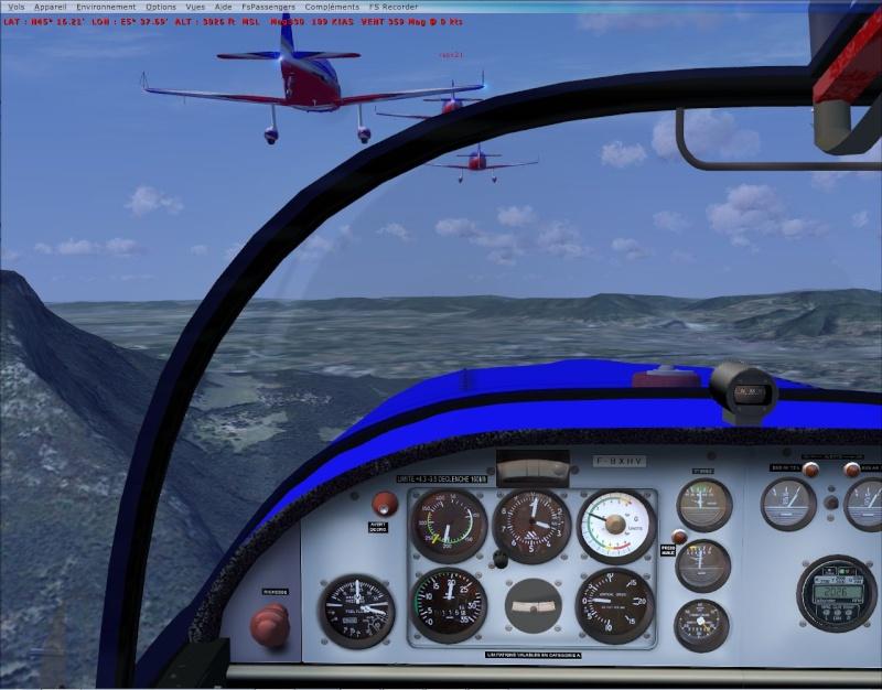 VOL FORMATION CAP10  vol en formation dans les Alpes Cap10_14