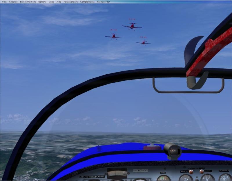 VOL FORMATION CAP10  vol en formation dans les Alpes Cap10_16