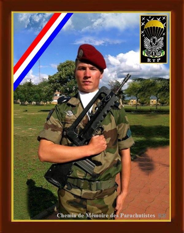 Mort accidentelle d'un brigadier du 1er RTP Ttttt610