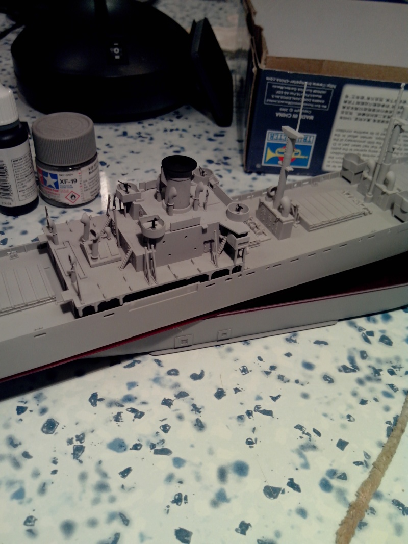 """Le LIBERTY SHIP s.s   """" Trumpeter 1/350 """" 2014-013"""