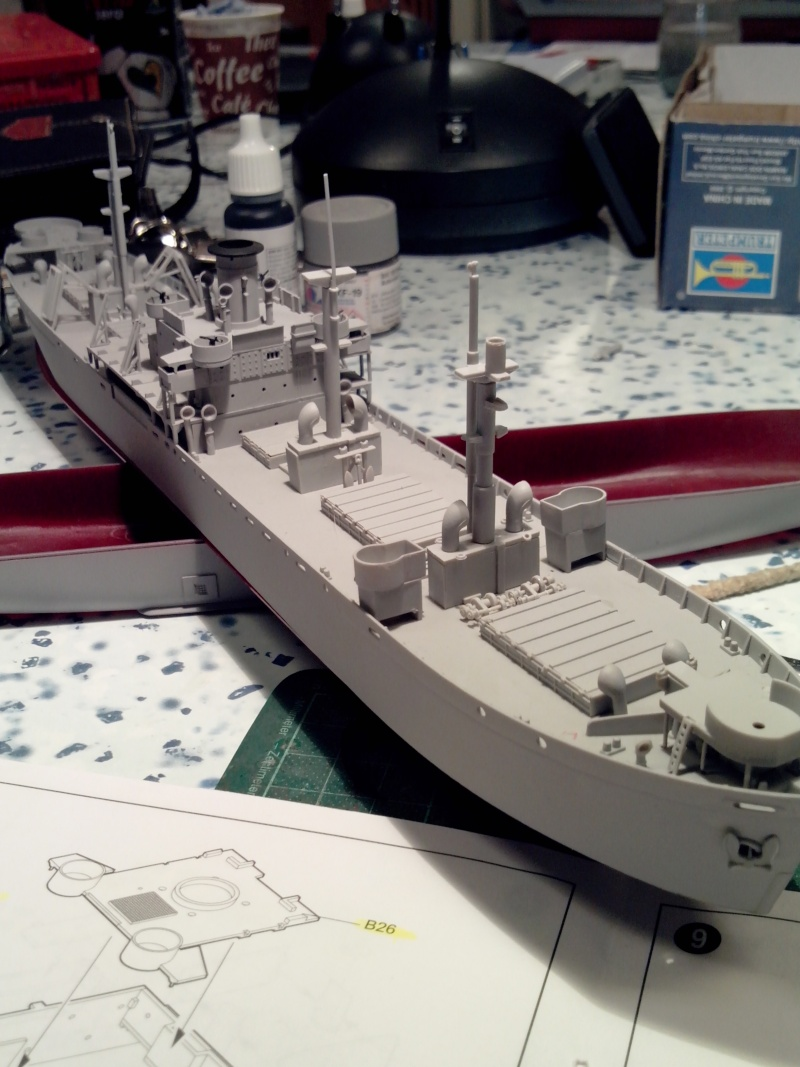 """Le LIBERTY SHIP s.s   """" Trumpeter 1/350 """" 2014-015"""