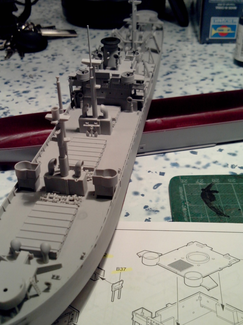 """Le LIBERTY SHIP s.s   """" Trumpeter 1/350 """" 2014-016"""