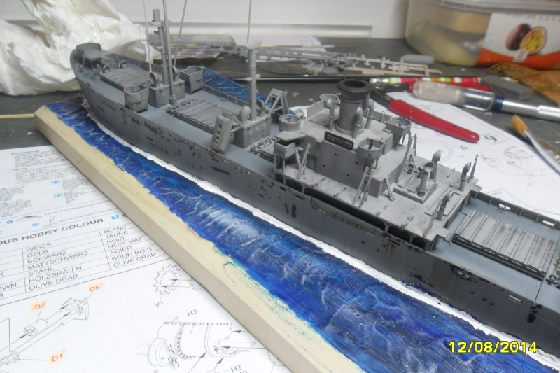 "Le LIBERTY SHIP s.s   "" Trumpeter 1/350 "" - Page 2 2014-024"
