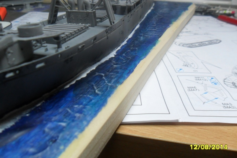 """Le LIBERTY SHIP s.s   """" Trumpeter 1/350 """" 2014-025"""