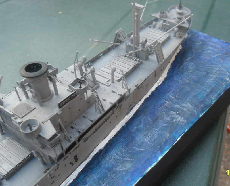 "Le LIBERTY SHIP s.s   "" Trumpeter 1/350 "" Sam_2614"
