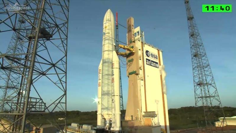 Lancement Ariane 5 ECA VA218 / Measat 3B + Optus 10  - 11 septembre 2014 - Page 4 Ar0110
