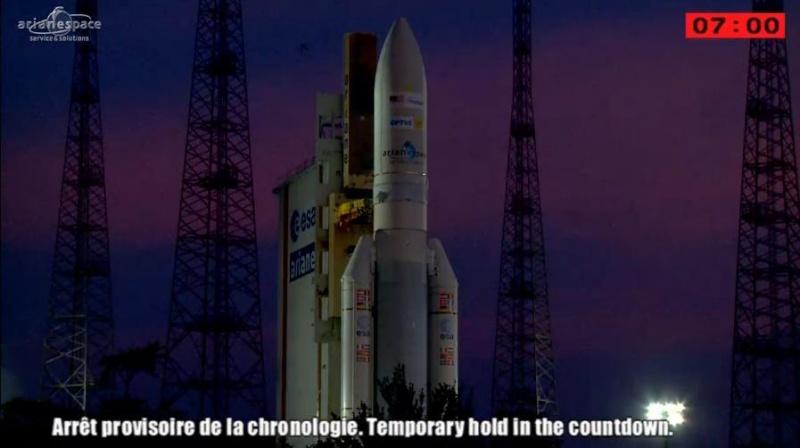 Lancement Ariane 5 ECA VA218 / Measat 3B + Optus 10  - 11 septembre 2014 - Page 5 Ar0410