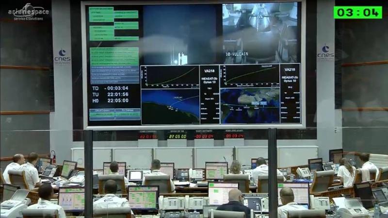 Lancement Ariane 5 ECA VA218 / Measat 3B + Optus 10  - 11 septembre 2014 - Page 5 Ar0810