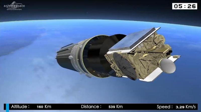 Lancement Ariane 5 ECA VA218 / Measat 3B + Optus 10  - 11 septembre 2014 - Page 5 Ar1010