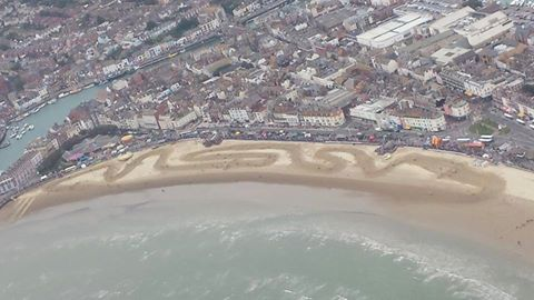 Weymouth Beach Race. 10480910